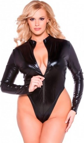 Kitten bodysuit black xl/xxl