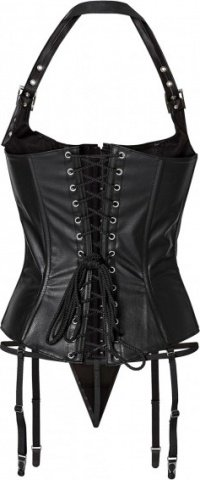 Corset w buckles + string s black, ���� 2