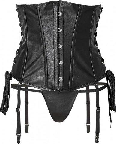 Short corset + string s black