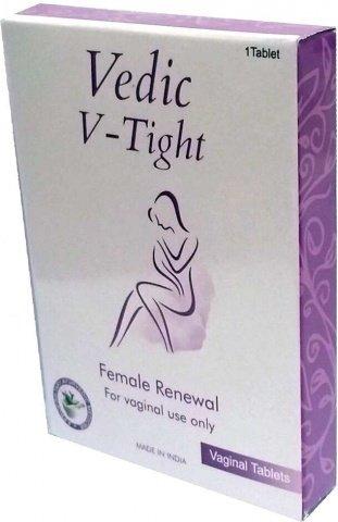 Вагинальные таблетки для сужения влагалища Vedic-V-Tight 5 шт
