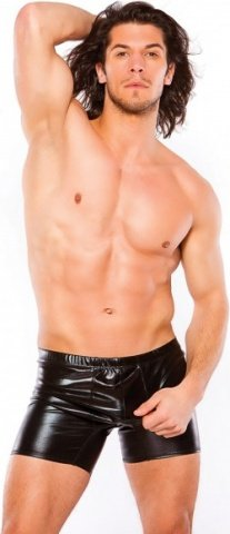 Wetlook shorts black s/l