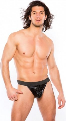 Wetlook thong black s/l