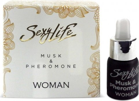 Духи Sexy Lifeженские Musk&Pheromone, 5 мл