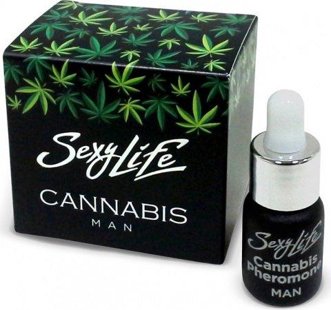 Духи Sexy Lifeмужские Cannabis Pheromone, 5 мл