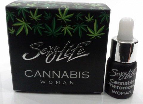 Духи Sexy Lifeженские Cannabis Pheromone, 5 мл