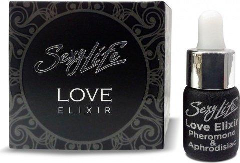 Эфирное масло-афродизиак с феромоном Sexy Life Love Elixir, 5 мл унисекс