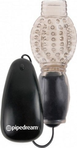 Vibrating head teazer black
