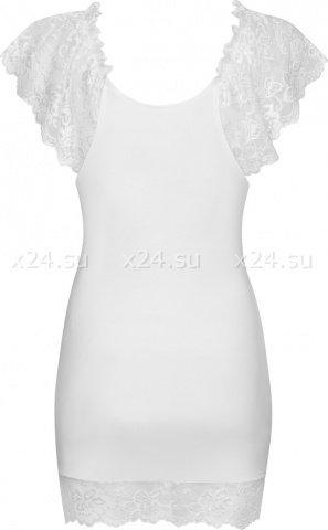 Белая сорочка с кружевом Imperia Chemise, фото 6