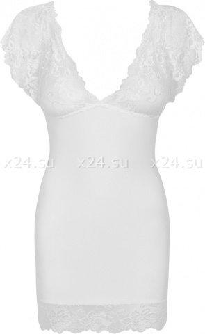 Белая сорочка с кружевом Imperia Chemise LXL, фото 5