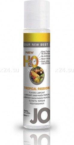 Ароматизированный любрикант на водной основе Tropical Passion (тропические фрукты) 30 мл