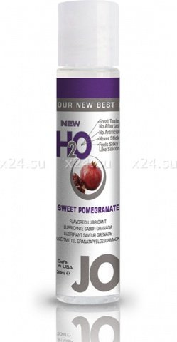Ароматизированный лубрикант на водной основе Sweet Pomegranate (гранат) 30 мл