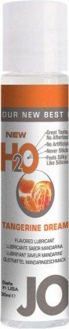 Ароматизированный любрикант на водной основе Tangerine Dream (мандарин) 30 мл, фото 2