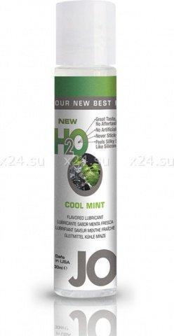 Ароматизированный любрикант на водной основе Cool Mint (мята) 30 мл