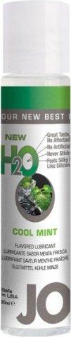 Ароматизированный любрикант на водной основе Cool Mint (мята) 30 мл, фото 2