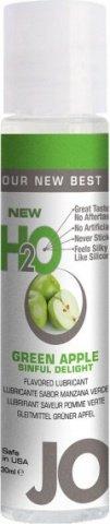 Ароматизированный лубрикант на водной основе Green Apple (яблоко) 30 мл