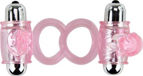 Эрекционное кольцо с вибростимуляцией клитора, фото 2