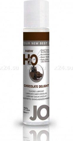 Ароматизированный лубрикант на водной основе Chocolate Delight (шоколад) 30 мл