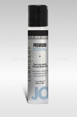 Охлаждающий лубрикант на силиконовой основе Premium Lubricant Cool (30 мл)