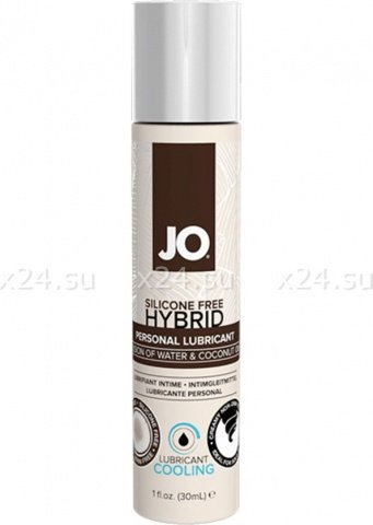 Лубрикант на водной основе с охлаждающим эффектом hybrid lubricant cooling (30 мл)