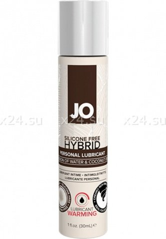 Лубрикант на водной основе hybrid lubricant warming (30 мл)
