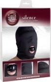 Шлем маска закрытая из нейлона с кляпом шариком | Кляпы | Секс-шоп Мир Оргазма