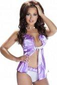 Пеньюар arya violet, фиолетовый, xxl/xxxl - Секс-шоп Мир Оргазма