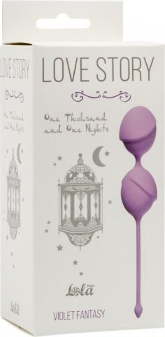 Вагинальные шарики Love Story One Thousand and One Nights Violet Fantasy 3004-05Lola, фото 2