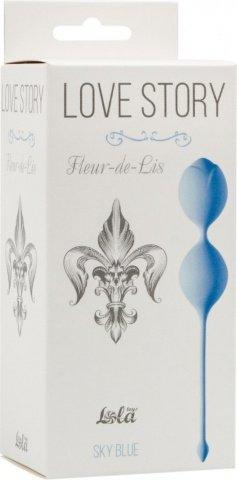 Вагинальные шарики Love Story Fleur-de-lisa Sky Blue 3006-04Lola, фото 2