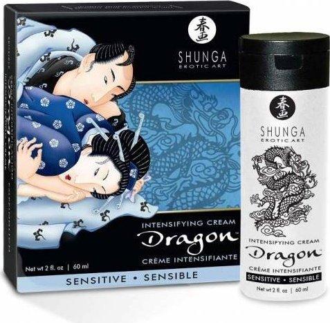 Интимный мужской крем дракон sensitive 60 мл
