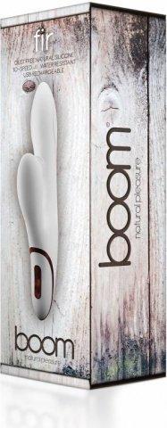 вибратор boom fir white sh-boom014wht, фото 3