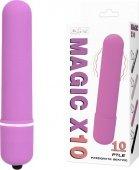 Вибромассажер пуля Magic X10 розовая - Секс-шоп Мир Оргазма