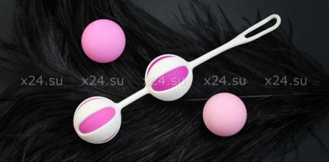 NEW! Вагинальные шарики Geisha Balls 2, цвет Розовый, фото 2