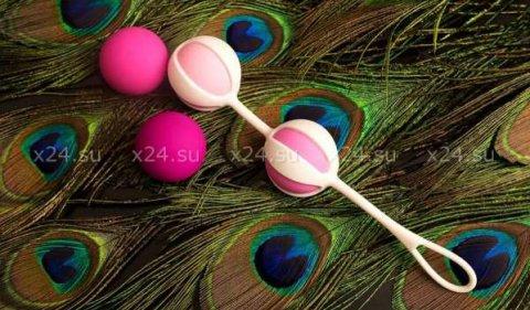 NEW! Вагинальные шарики Geisha Balls 2, цвет Розовый, фото 3