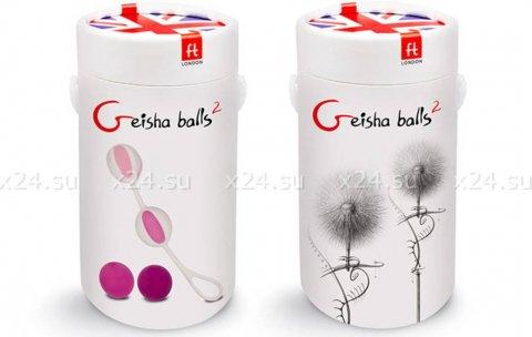NEW! Вагинальные шарики Geisha Balls 2, цвет Розовый, фото 5