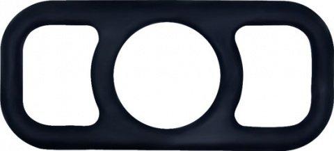 Эрекционное кольцо на пенис черное, фото 5