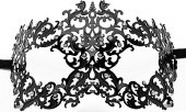 Маска Forrest Queen Masquerade Black SH-OU130BLK - Секс-шоп Мир Оргазма