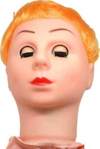 Кукла Блондинка, 2 виброотверстия, рост 160 см