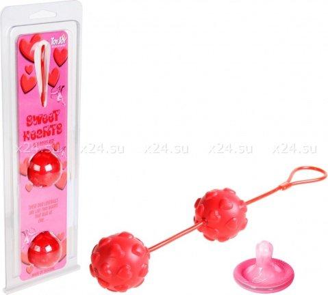 Шарики силиконовые Sweet Hearts, фото 2