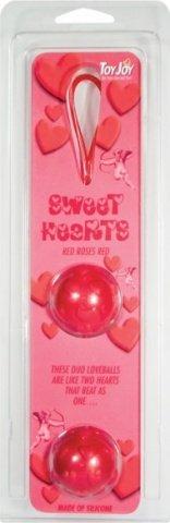 Шарики силиконовые Sweet Hearts, фото 3