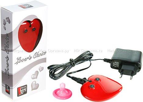Вибратор-массажер Lovers Choice, красный, фото 2
