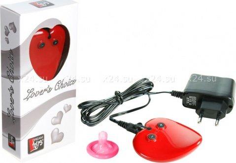 Вибратор-массажер Lovers Choice, красный, фото 4