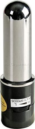 Вибратор со стимулятором клитора Hot Tickle 21 см, фото 6