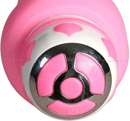 Вибратор Juicy Pink 18 см, фото 3