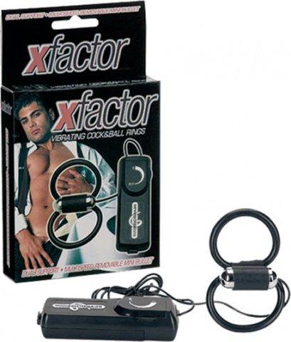 Эрекционное кольцо Xfactor с вибрацией, фото 3