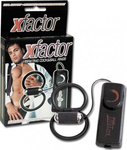 Эрекционное кольцо Xfactor с вибрацией, фото 4