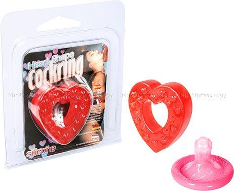 Эрекционное кольцо Heart, фото 2