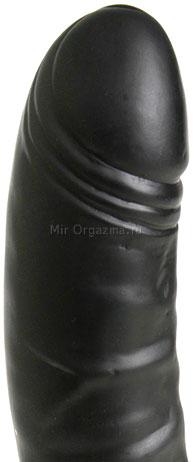 Вибратор Black sensation 22 см, фото 3