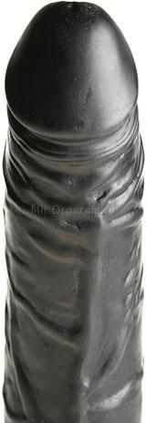 Вибратор черный Multi-Speed 20 см, фото 3