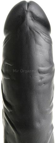 Вибратор черный Multi-Speed 14 см, фото 3