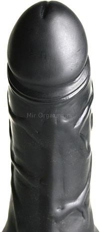 Вибратор черный Multi-Speed 14 см, фото 4